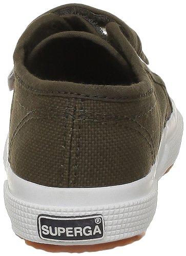 Superga 2750 Jvel Classic, Sneakers Basses mixte enfant Vert (595 Military Green)