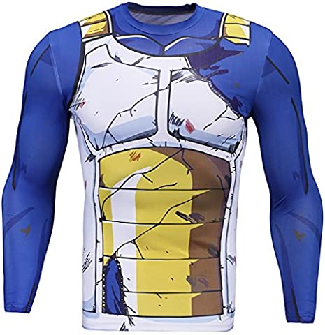 Pizoff Mens T-Shirt Anime-based sports shirt feeling cold Deodorant fun