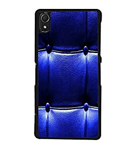 printtech Leather Pattern Back Case Cover for Sony Xperia Z3 , Sony Xperia Z3 D6653 D6603