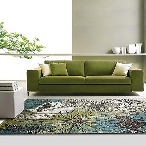 Vista moderna minimalista sala de estar dormitorio alfombra cerca nueva estética alfombras de gamuza antideslizante alfombra , bf7 , 120*170