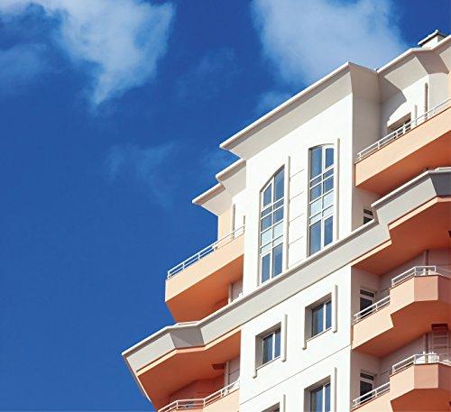 Fortuna Stoper- Professionelle Fassadenfarbe -  Hoch Wasserabweisend, Gefrierbeständigkeit, Beständigkeit gegen UV-Strahlung, ( Weiß )10 L