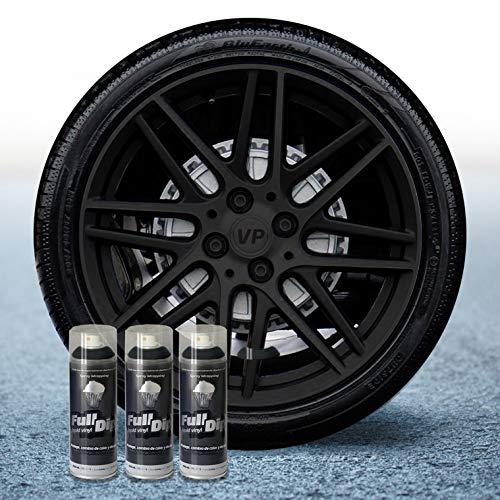Full Dip Lote 3 Sprays 400ML Vinilo Negro Mate