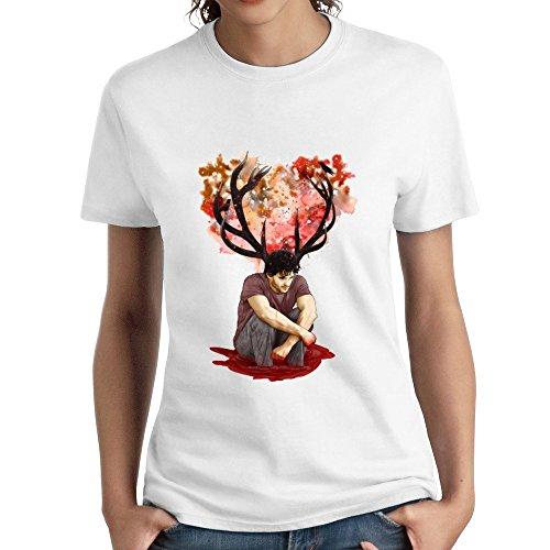 FIVE Miumine Madness - Hannibal Antler Unique Women's Short Sleeve Tshirts