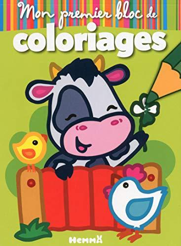 Mon premier bloc de coloriages (Animaux de la ferme)