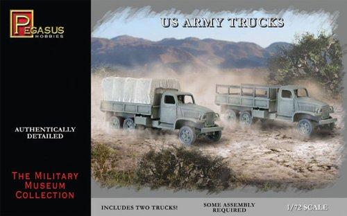 Pegasus PG7651 - 1/72 WW II US Army Trucks, 2 Bausätze