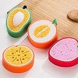 Fruit Shape Sponge Loofah - Bath And Body Bathroom Accessories Scrubbers   Fruit Bath Loofah For Kids - 2 Pcs