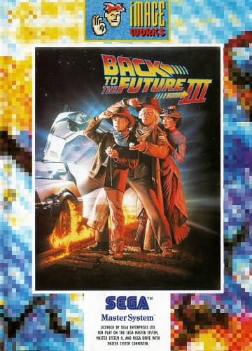 Back to the Future 3 (Master System) gebr.