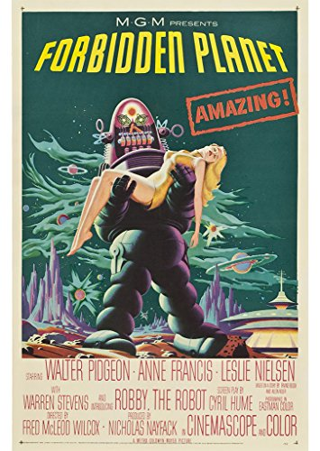 forbidden-planet-movie-poster-1956-fred-m-wilcox-robby-le-robot-papier-a2