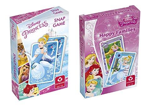Disney Prinzessinnen Quiz - Cartamundi 10000841Kartenspiele Disney Prinzessinnen Snap Game