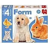 Diset - 69947 - 4 Puzzles - Form Photo