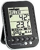 TFA Dostmann Profi-Thermo-Hygrometer mit Datenlogger-Funktion RH 100 303039. (schwarz)