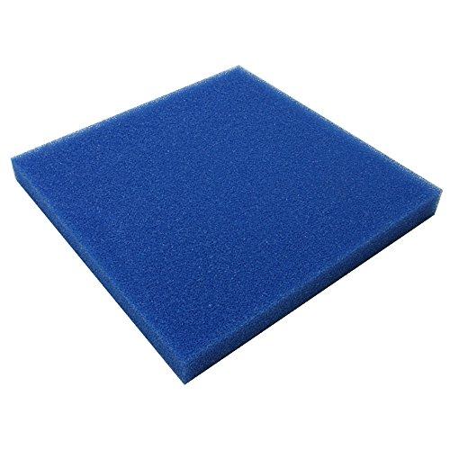 JBL 62560 Mehrweg-Schaumstoff für Aquarienfilter gegen alle Wassertrübungen, Filterschaum blau grob