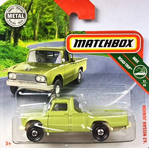 Matchbox* Nissan Junior - Pickup-Oldtimer 1962 - 1:64 - Farbe: Light Green