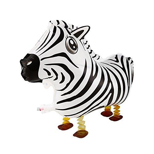 Walking Pets Folienballon Foilballoon Tiere: Zebra ()