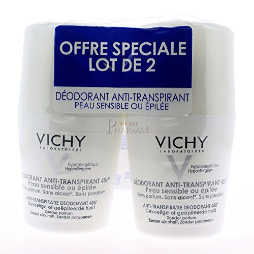 Vichy CVI08201 48 Hr Anti Traspirazione Deodorante Roll On - 100 ml