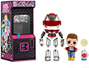 LOL Surprise Boys Arcade Heroes Action Figure Doll with 15 Surprises Including Hero Suit and Boy Doll or Ultra
