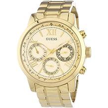 Guess  W0330L1 - Reloj de cuarzo para mujer, con correa de acero inoxidable, color dorado