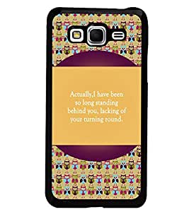 PrintDhaba Quote D-5721 Back Case Cover for SAMSUNG GALAXY GRAND PRIME (Multi-Coloured)