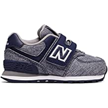 NEW BALANCE KV574 HOOK AND LOOP-Azul Marino-5 (USA) 21 (EUR)