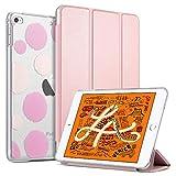 ULAK Cover per iPad Mini 5 2019, iPad Mini 4 Custodia Ultra Sottile Smart Cover in Pelle con Sonno/Sveglia la Funzione per Il iPad Mini 5 /Mini 4, Oro Rosa