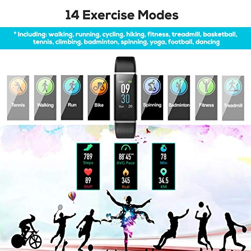 Zoom IMG-3 chereeki fitness tracker ip68 impermeabile