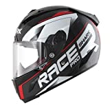Shark Motorradhelm Hark Race-R PRO Sauer, Schwarz/Rot, Größe L