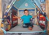 John 78203 - Feuerwehrhaus Sam - Spielzelt, Feuerwehrzelt, Kinderzelt, Spielhaus mit gedrucktem Motiv für Kinder Test