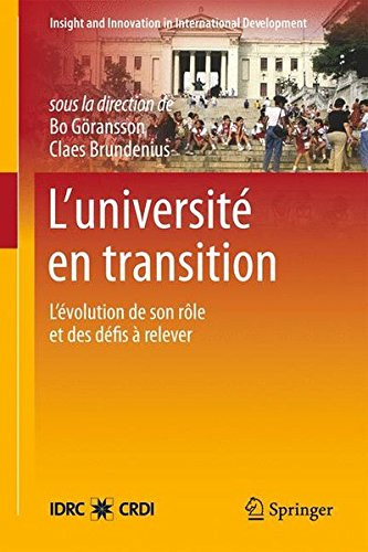 L'universite En Transition: L'evolution De Son Role Et Des Defis a Relever