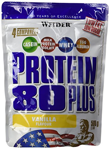 Weider 80 Plus Protein, Vanille (1 x 500 g)
