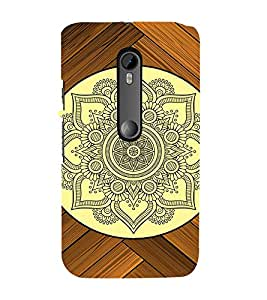 FIOBS vedic indian historic pattern symmetric shapes Designer Back Case Cover for Motorola Moto G3 :: Motorola Moto G (3rd Gen) :: Motorola Moto G3 Dual SIM