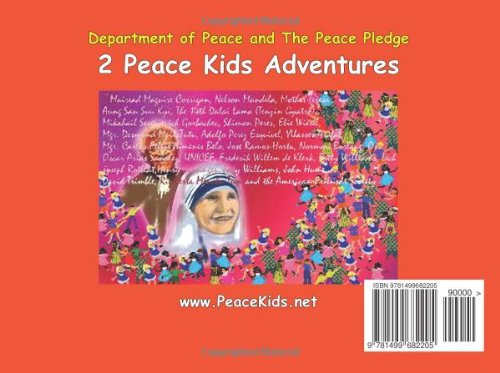 Department of Peace: (Plus The Peace Pledge) (Peace Kids Adventures)