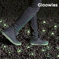 gloowies de luz fluorescente piedras guijarro guijarros
