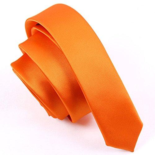 Cravates mince occasionnelle de mode