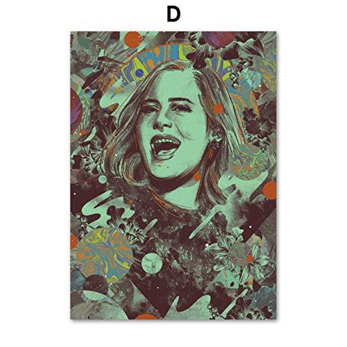 Premio Grammy Adele Beyonce Rapper Singer Star Arte de la pared de...