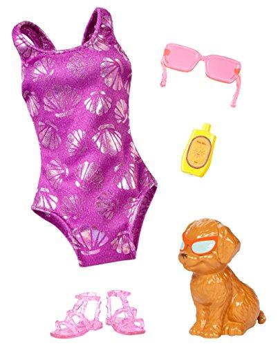 Mattel Barbie Delfin Magie Mode Zubehör Südsee-Set
