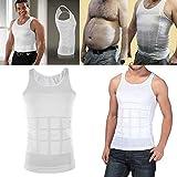 Camiseta Faja Abdominal Entallada Reductora Moldeadora Quemagrasas Adelgazante para Hombre Home Health Spain