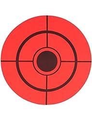 Airsoft Magic 3pulgadas–250Rollo de objetivo (objetivos de disparo para Airsoft AEG GBB–negro/rojo
