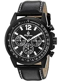 Burgmeister Herren-Armbanduhr Chronograph Quarz Leder BM608-622A