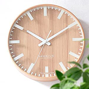 The Original Wooden Wall Clock Creative Silence In The Living Room Clock Wood Wooden Wall Table