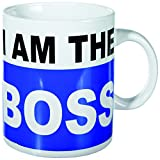 Out of the blue 78/8179 Tazza, Modello I Am The Boss, Procellana, Multicolore, 15.1x12.1x14 cm
