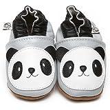 Chaussons Bébé en cuir doux Panda 12/18 mois