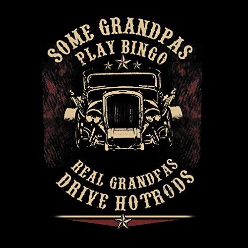 Real Grandpas Drive Hotrods Men's Vest Black