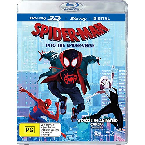 Spider-Man Into the Spider-Verse 3D (Blu-ray 3D/Blu-ray)