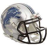 Riddell - Réplica de casco de fútbol americano, diseño de los Detroit Lions