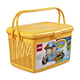 Best Picnic Baskets - Cello Multimate Polypropylene Jumbo Utility Basket, Yellow Review
