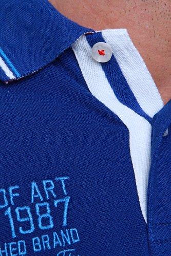 STATE OF ART Herren Shirt Poloshirt Cannes Dunkelblau1