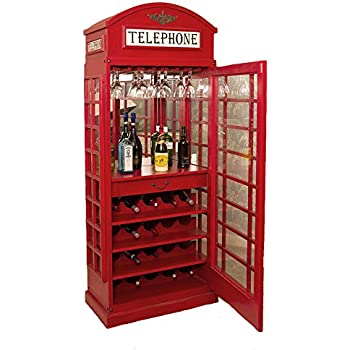 SEI Mirage Mirrored Bar Cabinet: Amazon.co.uk: Kitchen & Home