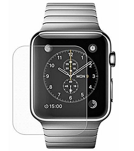 Wandregal Josi Minea Apple Watch gehärtetem Glas Ballistic LCD Displayschutzfolie Screen Guard Premium HD Cover Shield für Apple Watch, 42mm Lcd Screen Guard Protector