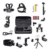 ParaPace Kit d'accessoires pour caméra 16 en 1 Action pour GoPro Hero 7/6/5/4/3 +...