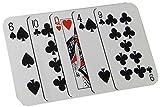 Kaltner Präsente Geschenkidee - Zaubertrick Kartenspiel Spielkarten Kartentrick Trickkarten Find the Lady